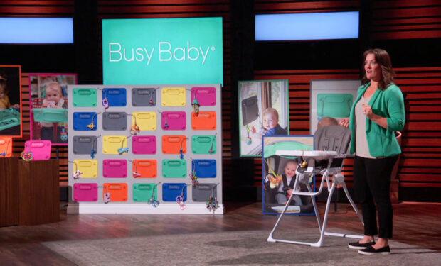 Busy Baby Shark Tank