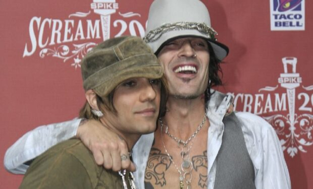 Criss Angel Tommy Lee