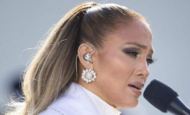 Jennifer Lopez Inauguration