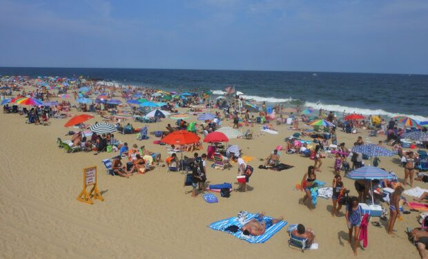 Long Branch, NJ beach