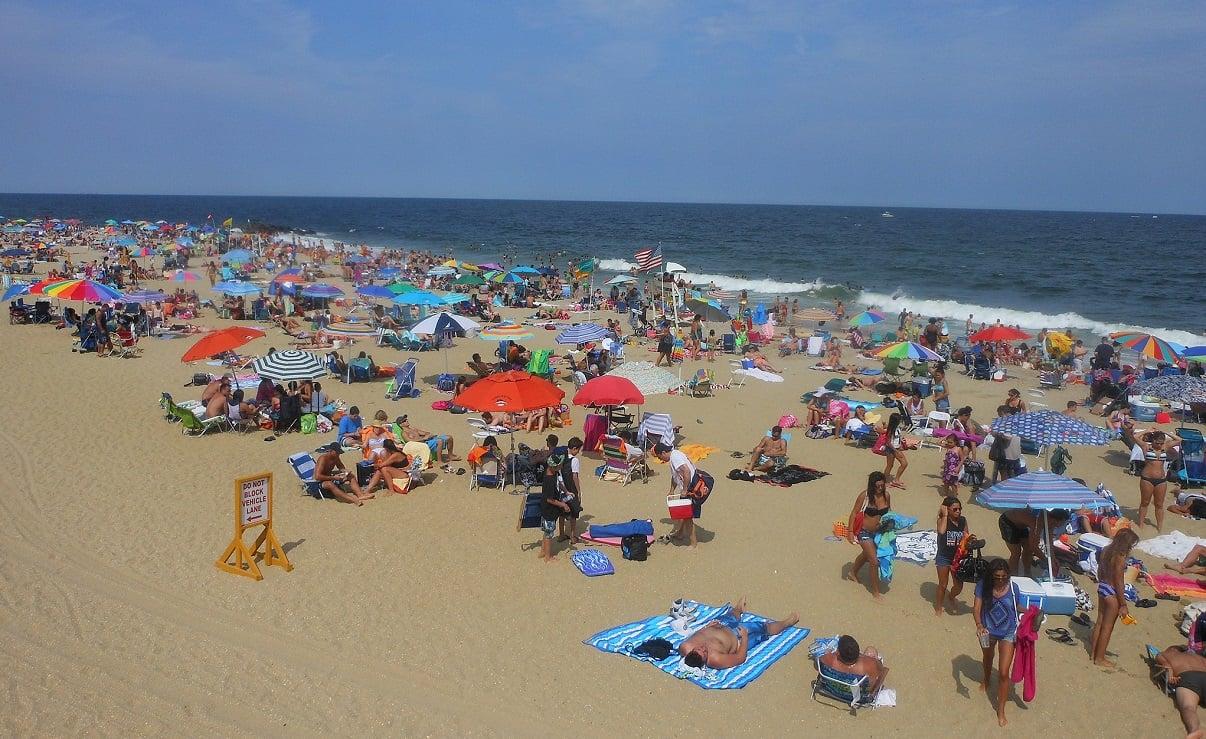 Long Branch, NJ beach