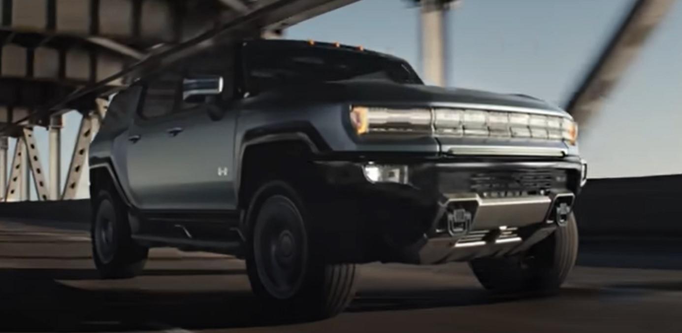 Hummer EV commercial