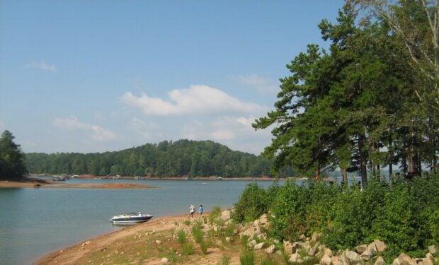 Lake Lanier, Georgia beach state park
