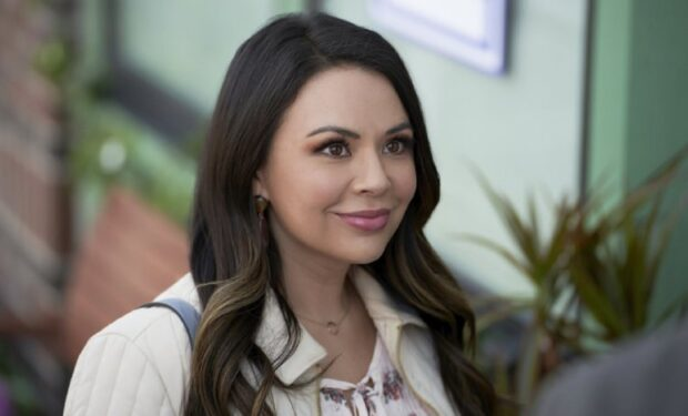 Janel Parrish in Right in Front of Me (Hallmark/Crown Media)