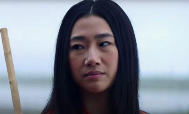 Olivia Liang in Kung Fu (CW screengrab)