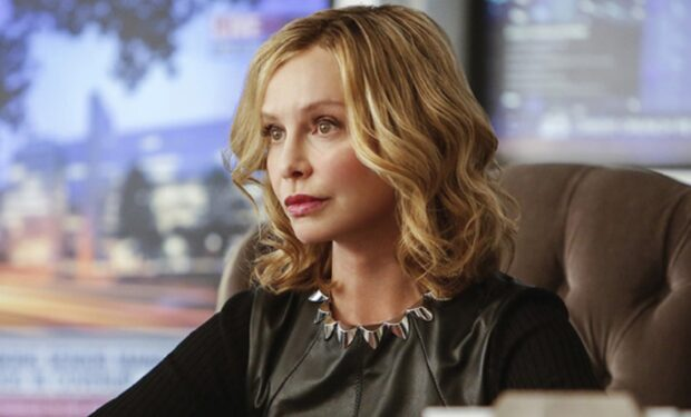 Calista Flockhart on Supergirl (CW photo)