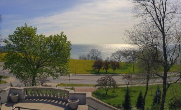 Lake Park in Milwaukee, Wisconsin