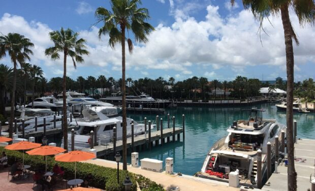 Marina on Paradise Island Bahamas
