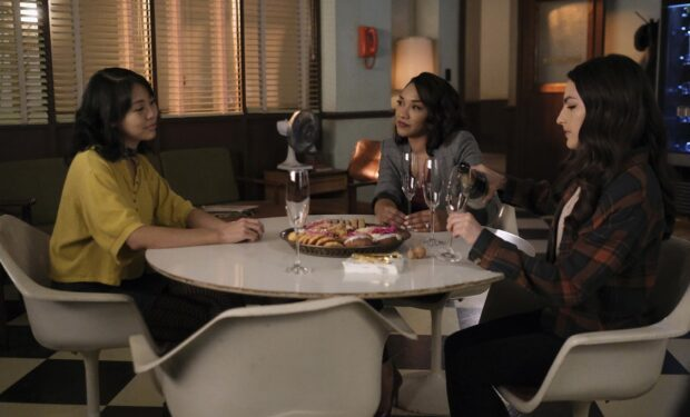 "The Flash, ""Good-bye Vibrations"" episode (CW photo)"