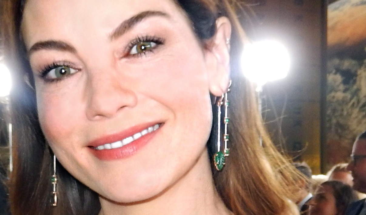 Lsquo Mission Impossible rsquo  Star Michelle Monaghan Wows In Sexy Ruffle Dress   ldquo Get Your Flutter On  rdquo