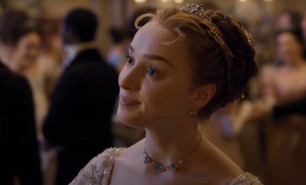 Phoebe Bridgerton Netflix screengrab