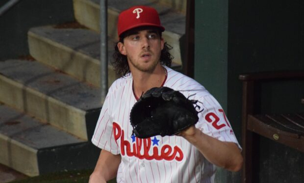 Aaron Nola pitcher Phillies MLB