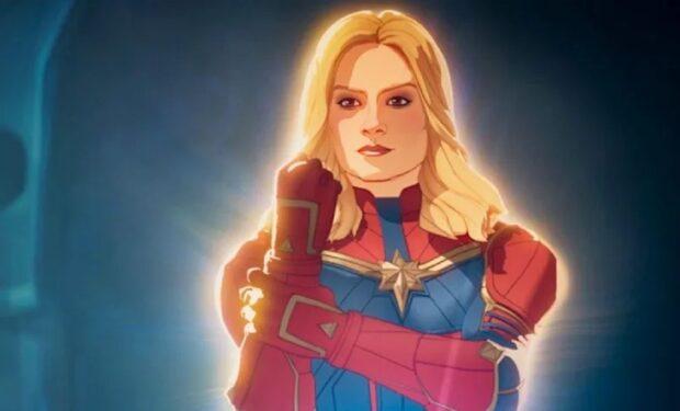 Captain Marvel in What If...? (Disney/Marvel Studios)