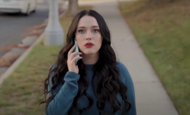 Kat Dennings in Dollface (hulu screengrab)
