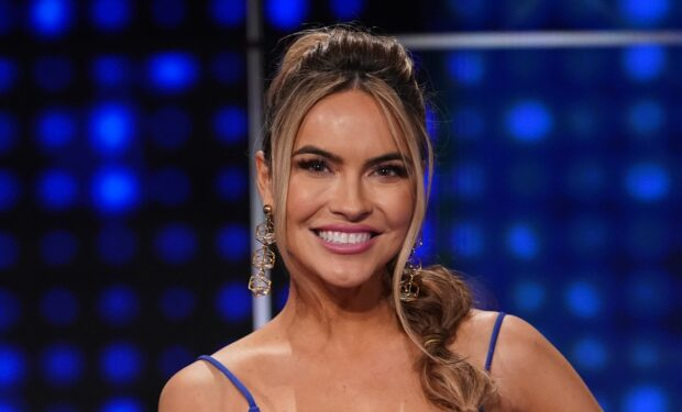 Chrishell Stause on Celebrity Family Feud