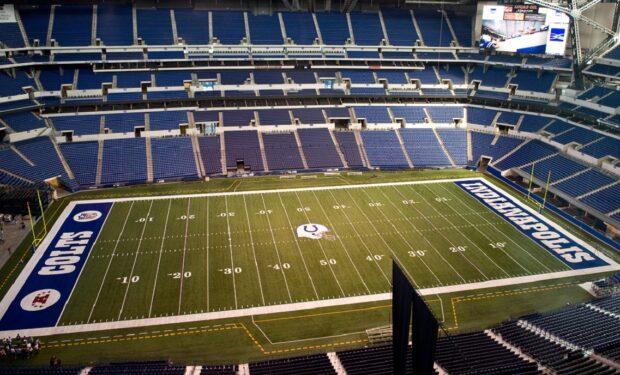 Indianapolis Colts Lucas Oil Stadium