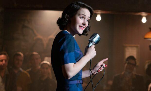 Rachel Brosnahan in The Marvelous Mrs. Maisel (Amazon Studios/Nicole Rivelli)